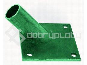 Patka na vzpěru 38 mm zelená RAL6005