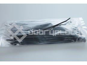 Montážní pásky vázací černé 2,5x120mm - 50ks