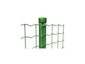 Sloupek průměr 48 mm s prolisem, výška 200 cm, zelený