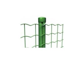 Sloupek průměr 48 mm s prolisem, výška 230 cm, zelený