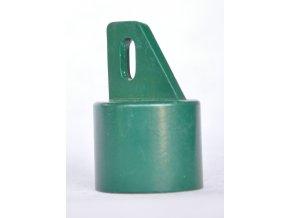 Koncovka na rozpěru, průměr 38mm, zelená