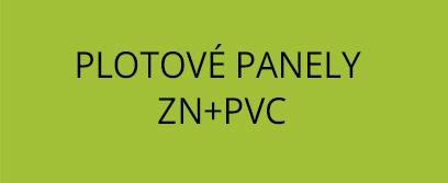 Plotové panely Zn+PVC