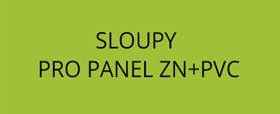 Sloup pro panel ZN+PVC