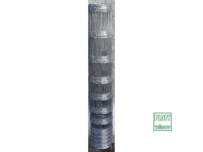 Lesnické uzlové pletivo v.100 mm, 1,6/2,0 mm, 8 drátů