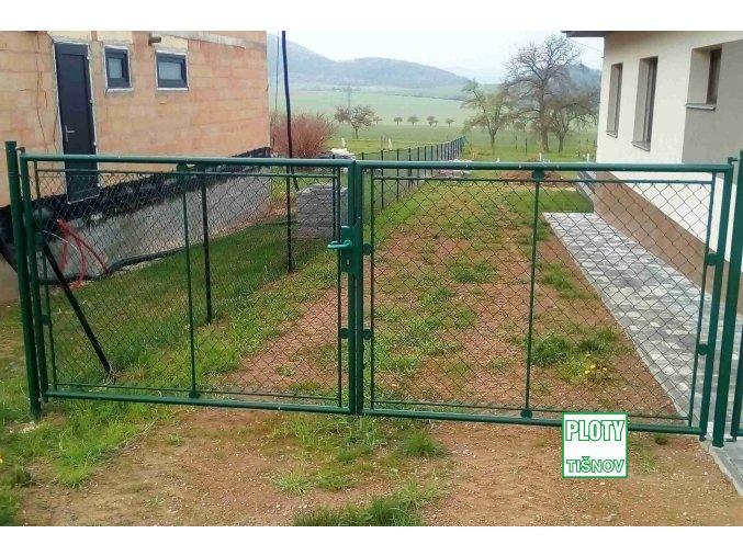 Zahradní  plotová  brána  Fab
