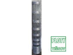 Lesnické uzlové pletivo v.100 mm, 1,6/2,0 mm, 8 drátů OBJ