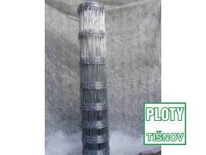 Uzlové  lesnické  pletivo  výšky  100 cm,  drát 1,6/2,0 mm, 11 drátů