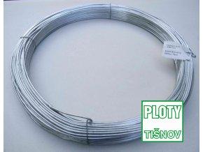 Napínací  drát  pozinkovaný 2,8 mm 52 m