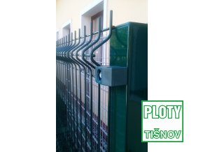 Plotový panel na sloupku 60*60 mm