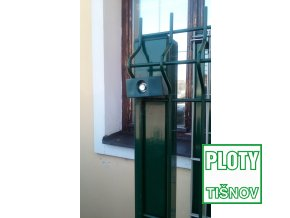 Plotový panel 3D na sloupku 60*60 mm