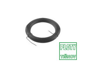 Vázací drát ZN+PVC pr. 1,0/1,4 mm délka  50 m