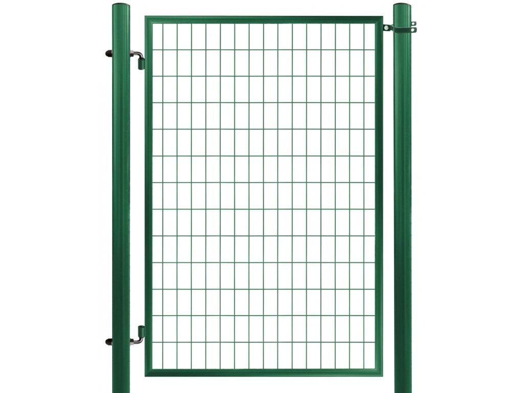 Bránka ECONOMY zahradná zvarovaná sieť, výška 150x100 cm OKO zelená