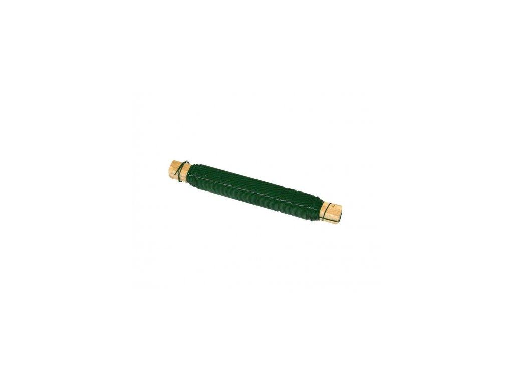 viazaci drot lakovany zeleny 2ks v balenie 8595068411131