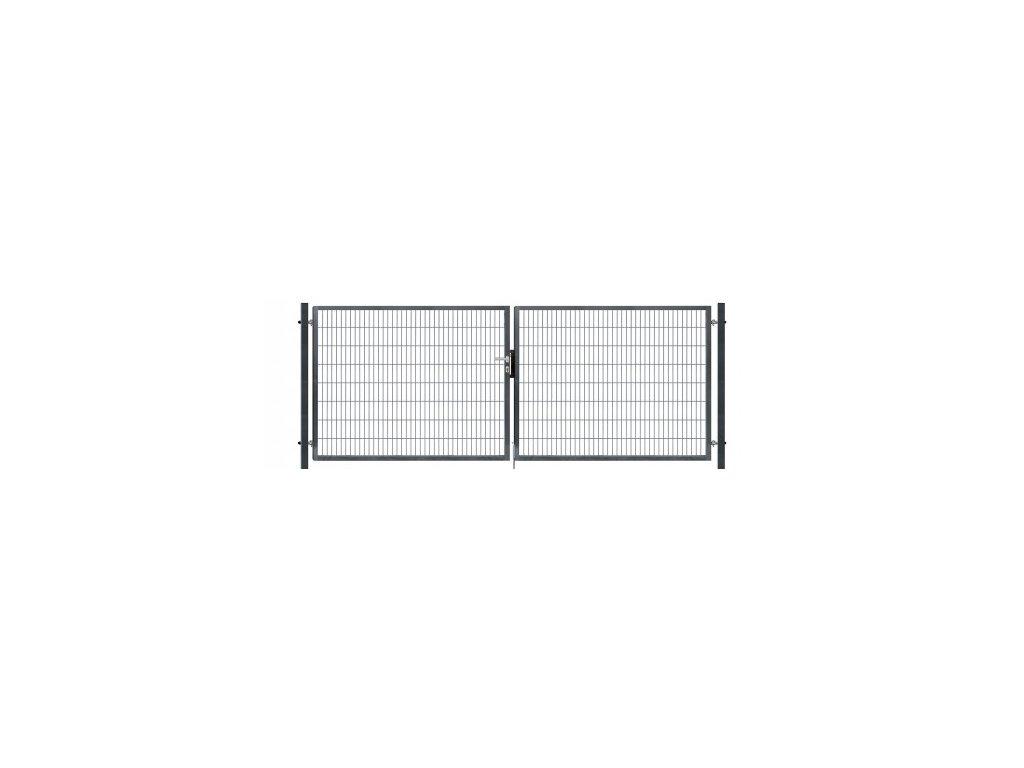 dvoukridla brana pilofor super poplastovana zn pvc antracit rozmer 4118 1380 mm 8595068451809