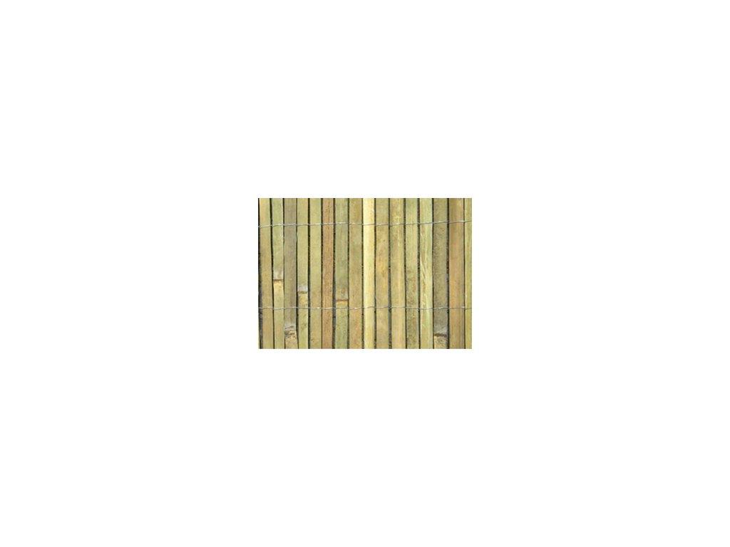Štiepaný bambus, výška 200 cm, 5 metrov
