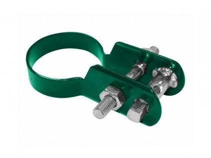 Napinák KOMBI Zn+PVC, zelený