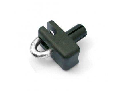 Príchytka napínacieho drôtu, nabíjacia čierna