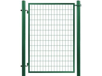 Bránka ECONOMY zahradná zvarovaná sieť, výška 100x100 cm OKO, zelená