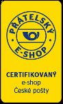 Jsme certifikovaný eshop České pošty