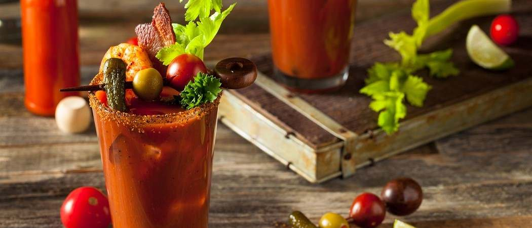 Recept na Bloody mary