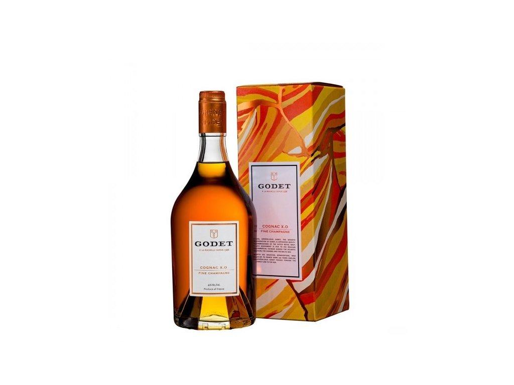 Godet X.O. Fine Champagne Bonaventure  armanag0,7 l dárková krabice