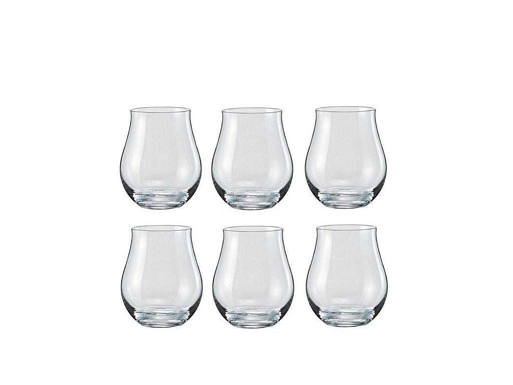 Crystalex Attimo sklenice na RUM 320 ml, 6 ks