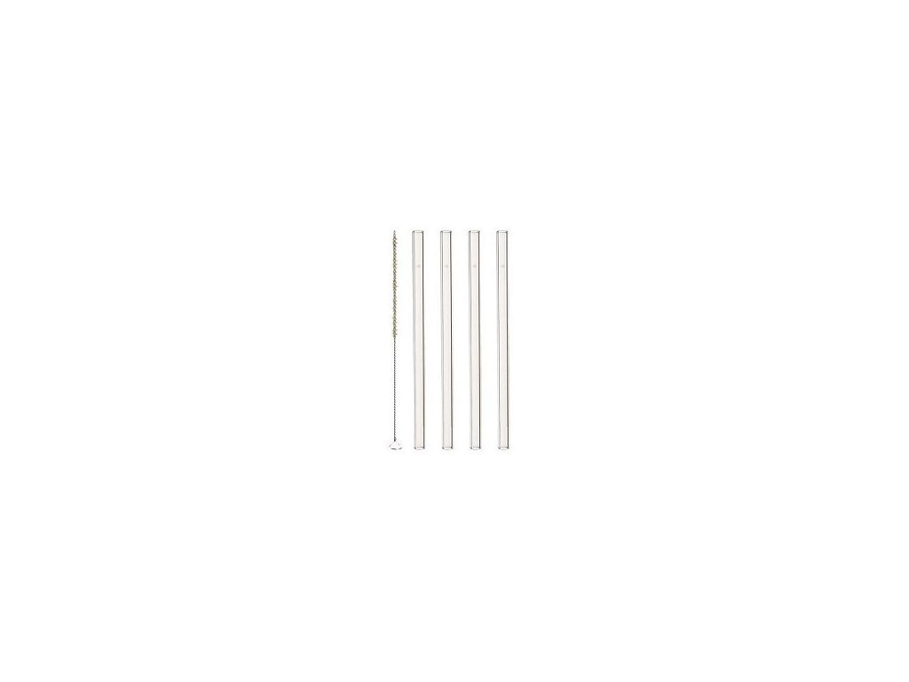 Leonardo Sada skleněných brček 15cm (4+1)