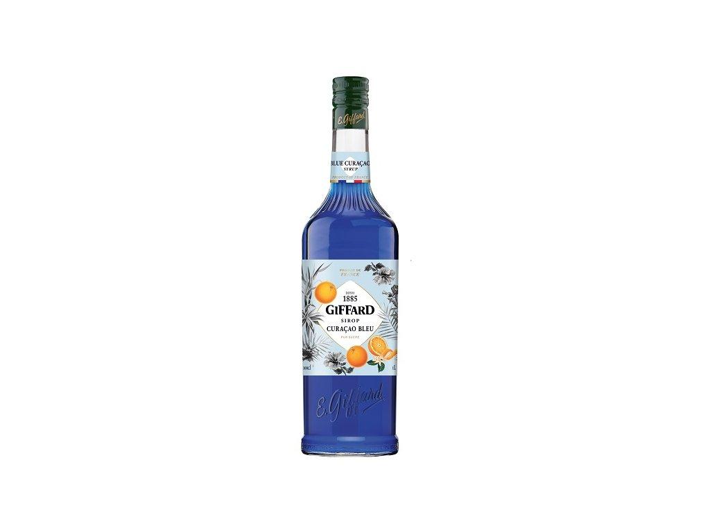 Sirup Giffard Blue curacao 1 l
