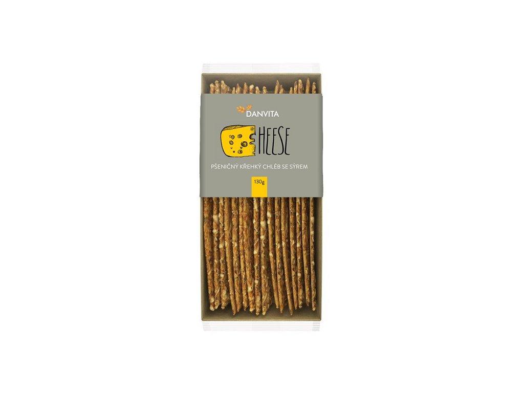Danvita Krekry se Sýrem 130 g