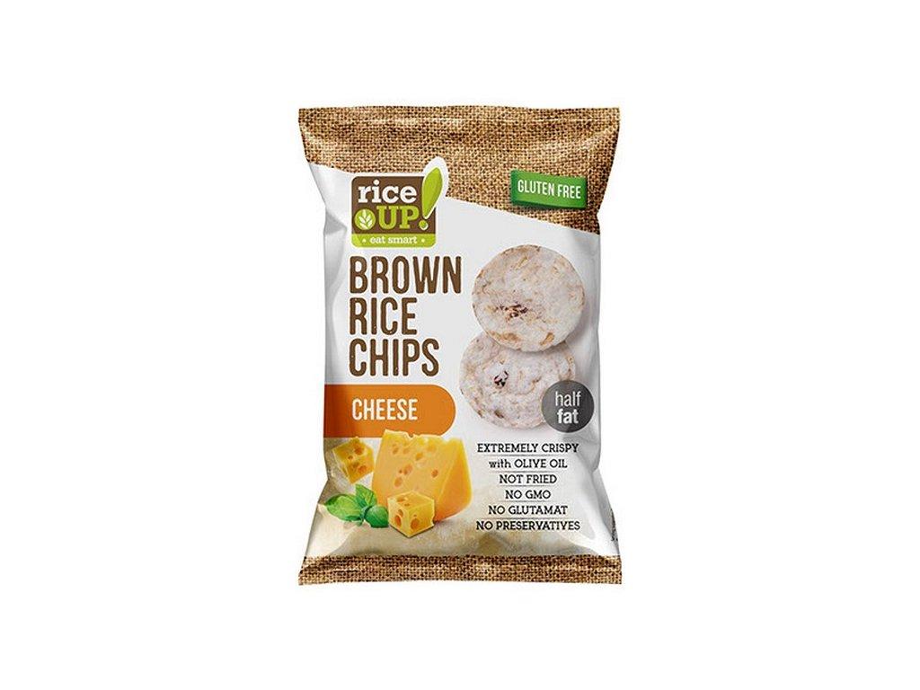 Rice-up rýžové chipsy se sýrem 60 g