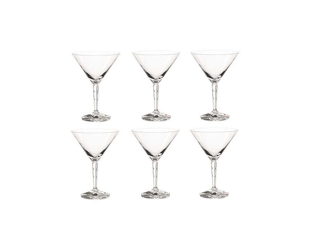 Leonardo Spiritii sklenice na martini 200 ml, 6 ks