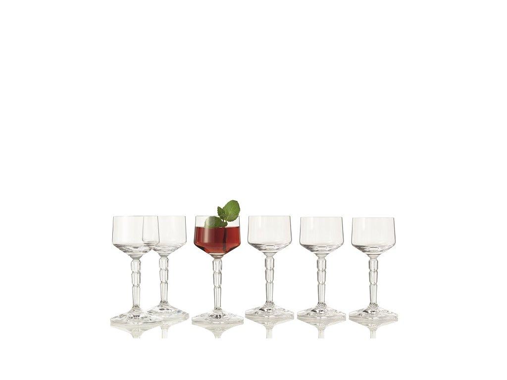 Leonardo Spiritii sklenice na likéry 100 ml, 6 ks