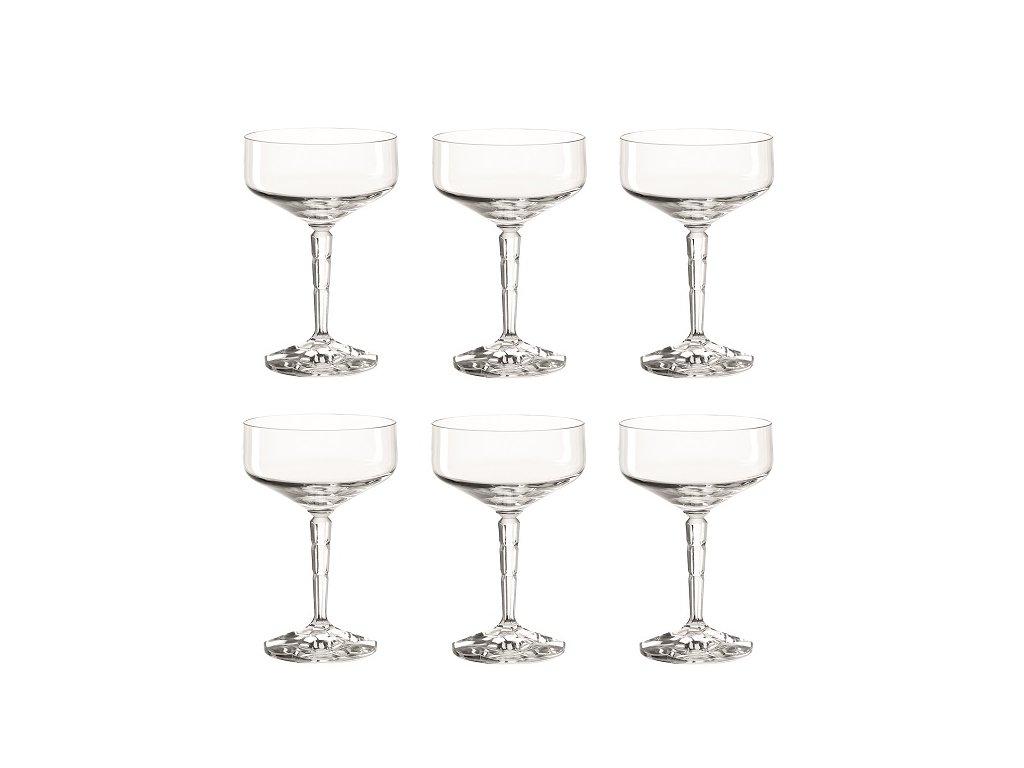 Leonardo Spiritii sklenice na koktejly 200 ml, 6 ks