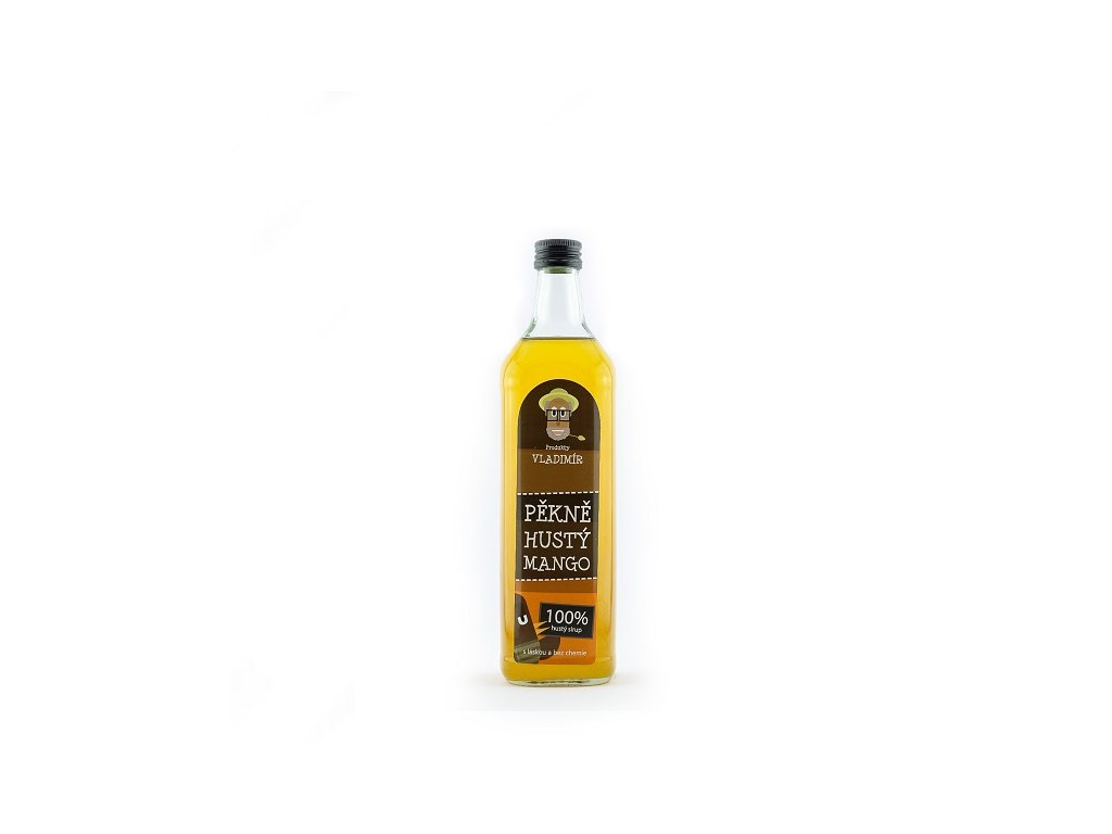 Sirupy Vladimír pěkně hustý mango 0,7 l