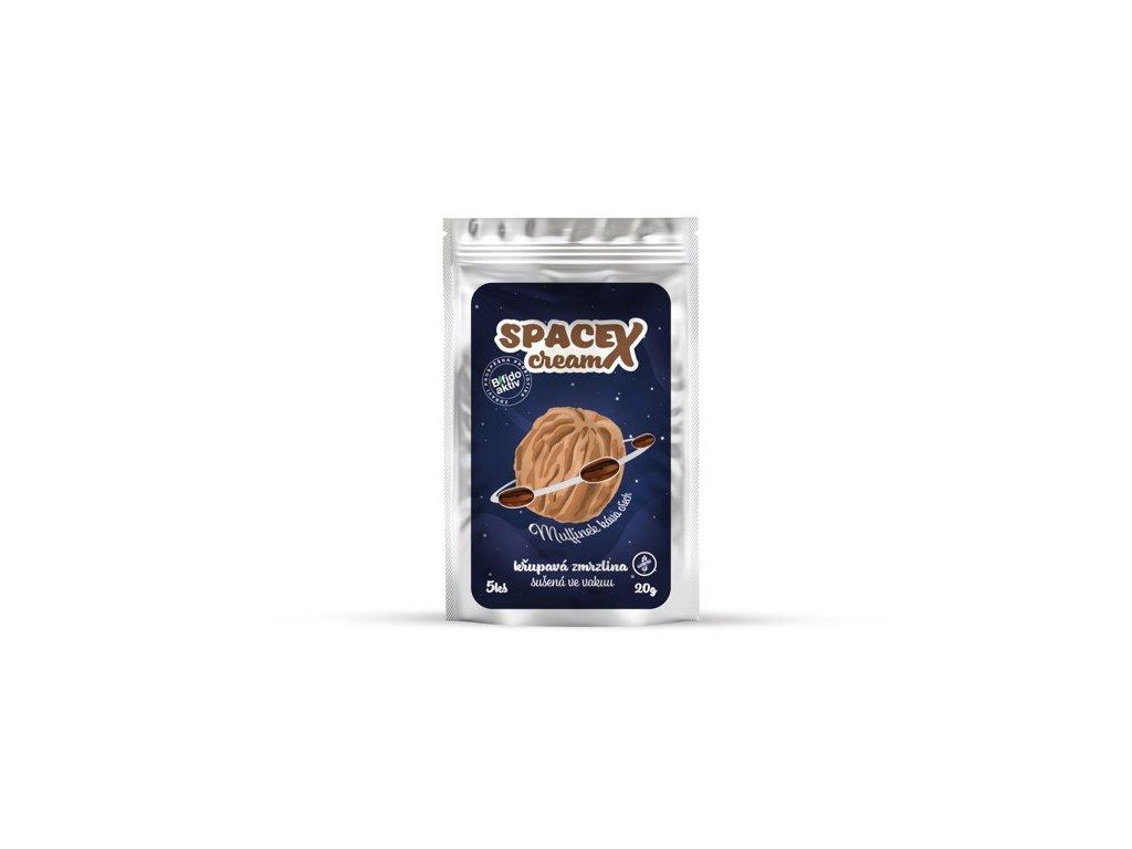 Křupavá zmrzlina SpaceX cream káva & vlašský ořech 5 ks