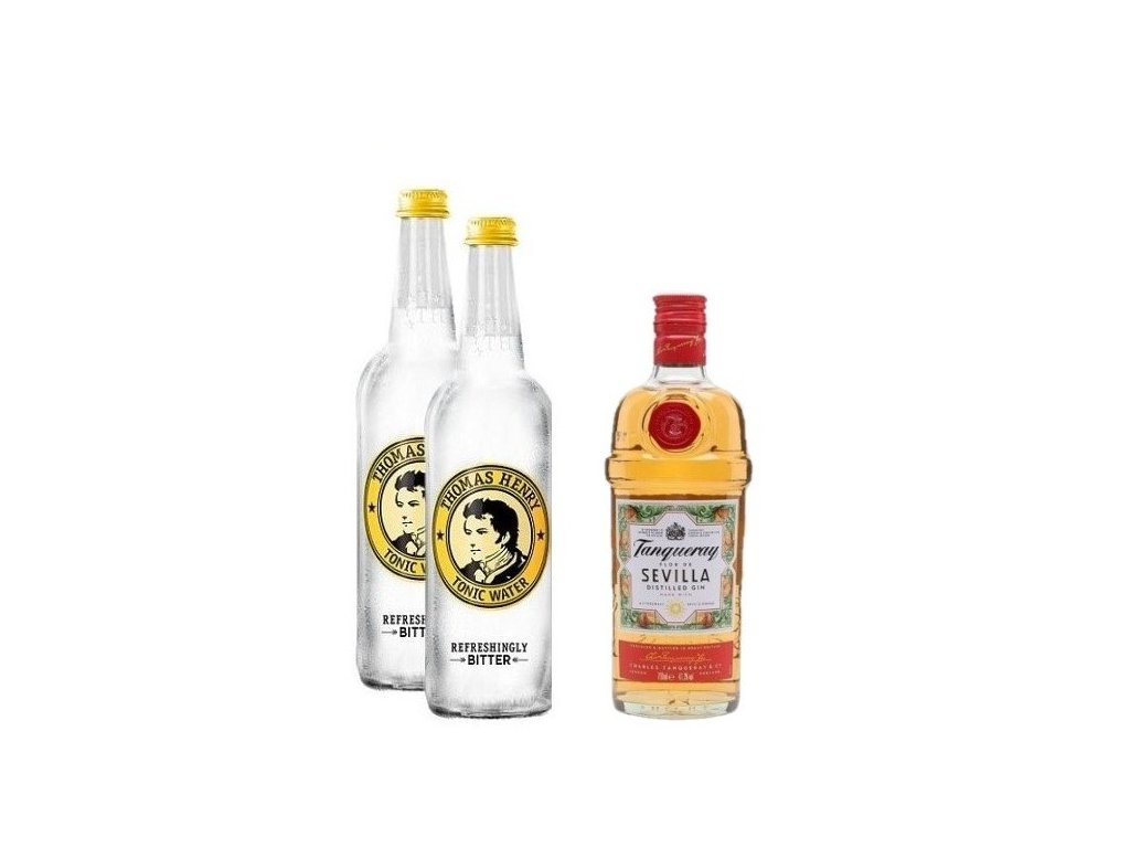Tanqueray Flor De Sevilla Gin & Tonic sada na koktejl basic