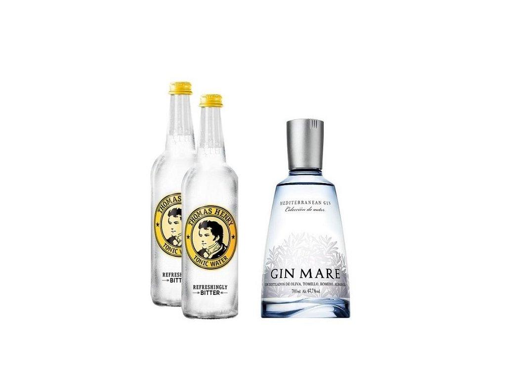 Gin Mare & Tonic basic