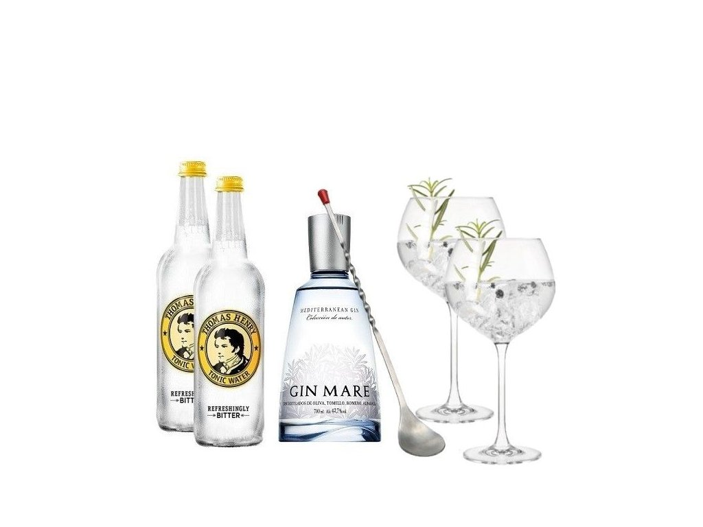 Gin Mare & Tonic sada na koktejl Deluxe