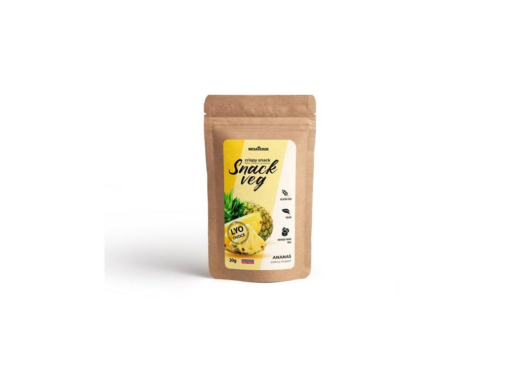 Mrazem sušené ovoce SnackVeg ananas