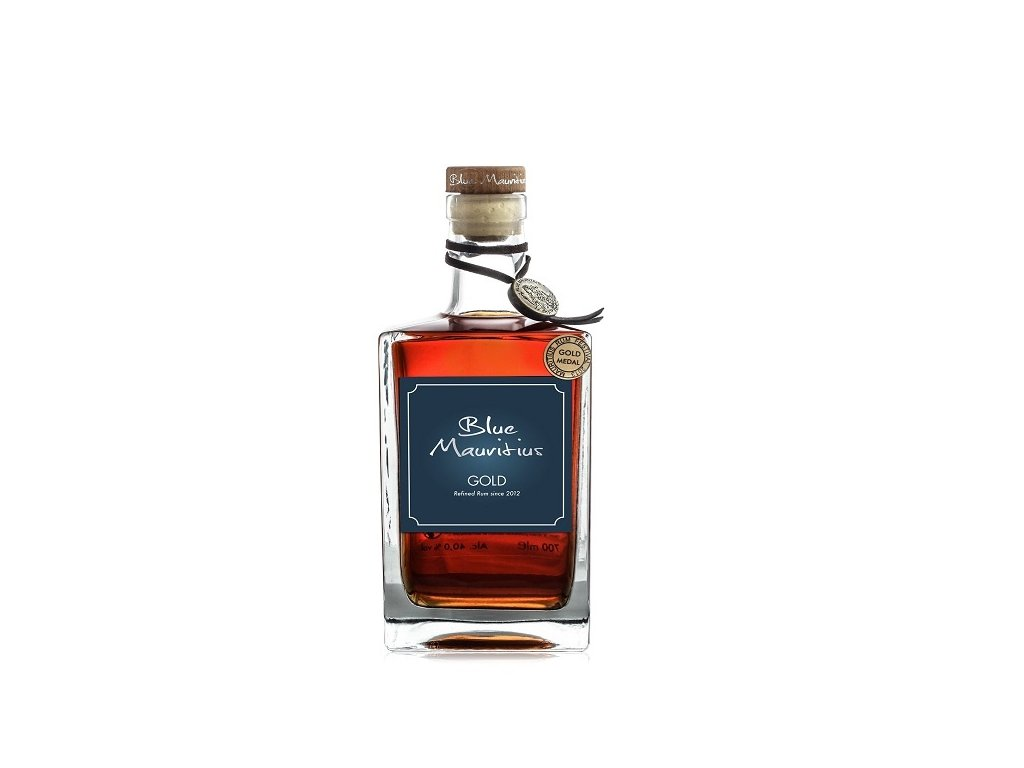 Blue Maritius Gold Rum