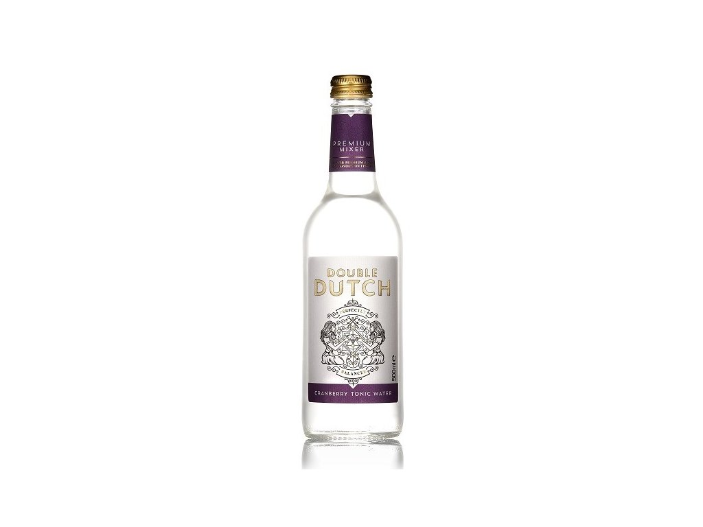 Double Dutch Cranberry & Ginger Tonic Water 0,5 l
