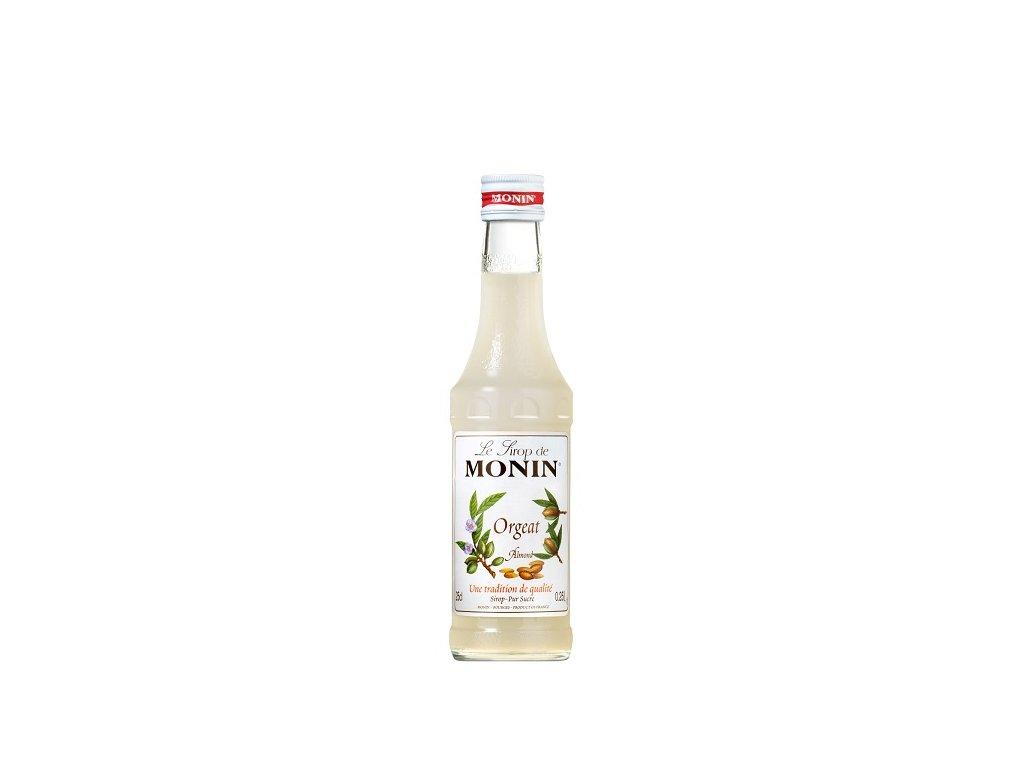 Monin Orgeat mandlový sirup 0,25 l
