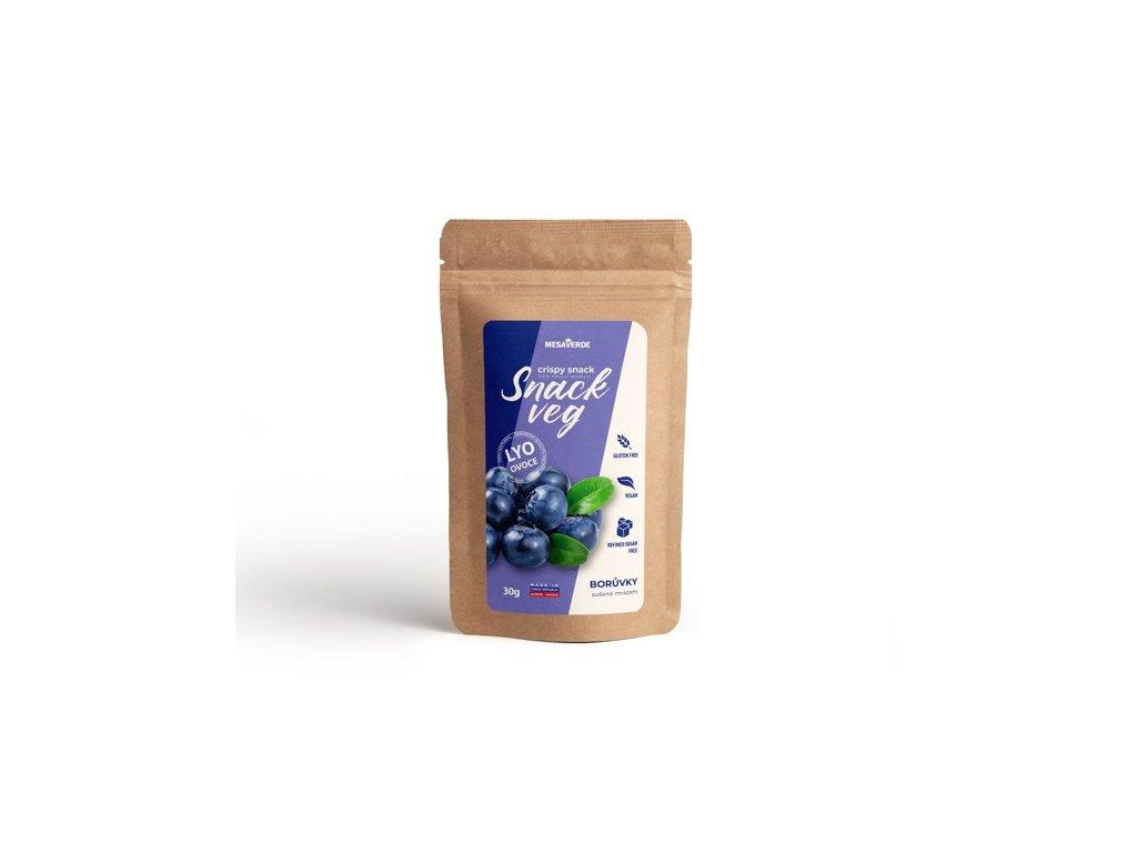Mrazem sušené ovoce SnackVeg borůvka 30 g