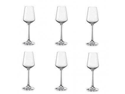 Crystalex Sandra sklenice na likéry 65 ml, 6 ks