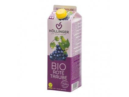 Džus červený hrozen Bio HOLLINGER 1 l