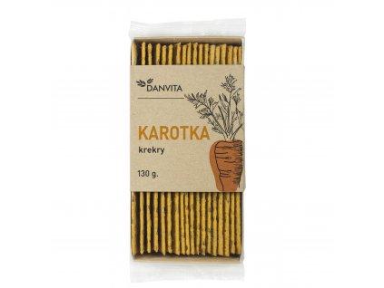 Danvita Krekry Karotka 130 g