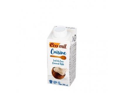 Kokosová alternativa smetany BIO ECOMIL 200 ml