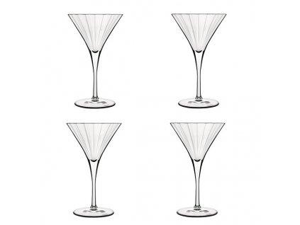 Luigi Bormioli Bach sklenice na martini 260 ml, 4 ks