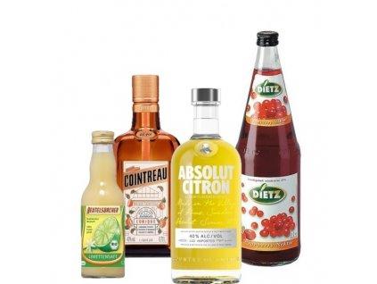 Cosmopolitan set ingrediencí