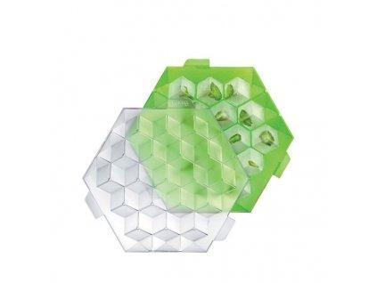 37521 8 forma na led lekue ice cube zelena